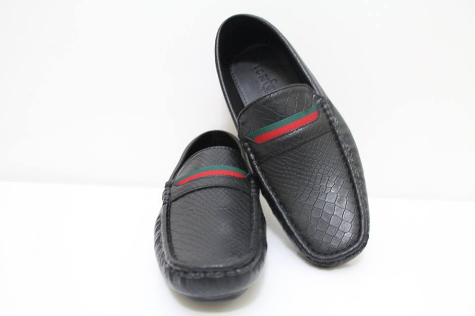 Gucci CASUAL LOAFER SHOES BLACK