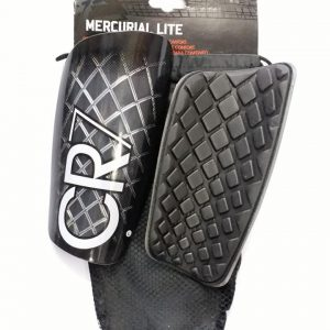 CR7 Black Shin Guards