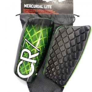 CR7 green and black Shin Guards