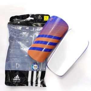 Lite Orange Blue Shin Guard