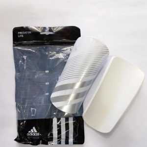 Lite Silver White Shin guards