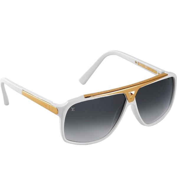 Louis Vuitton Evidence Sunglasses White - Buy best 58b47927d56f9