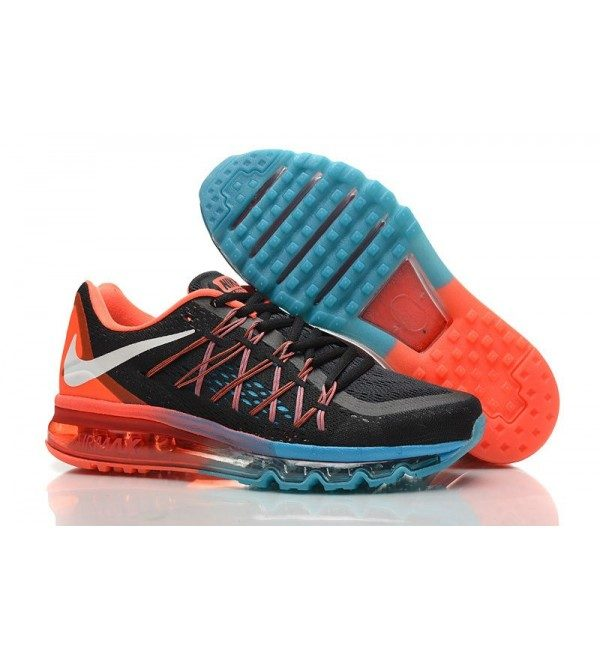 dc645fdb3cdc ... get new nike air max 2015 running shoes black red jade 2ef3b ad0a3