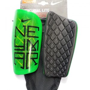 Neymar green Shin Guards
