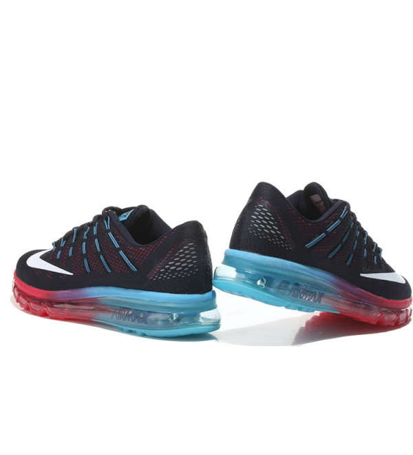 the latest 52568 999f0 CHEAP AIR MAX 2016 LEATHER BLACK RED BLUE