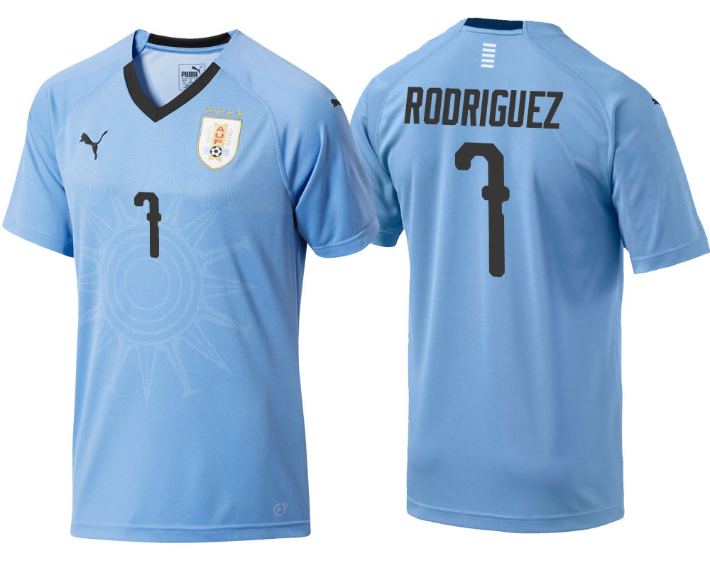 32d5568be URUGUAY WORLD CUP 2018 HOME JERSEY - Buy best