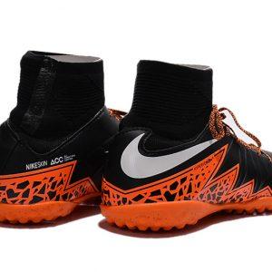 b474cbe671d hot nike hypervenom phelon 2 high tops tf soccer boots black orange white  eb1ee 9584a