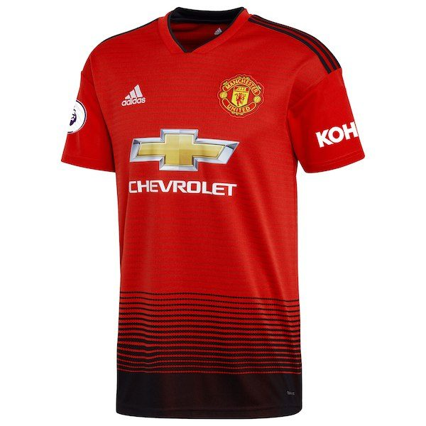 Manchester United Home Red Jersey