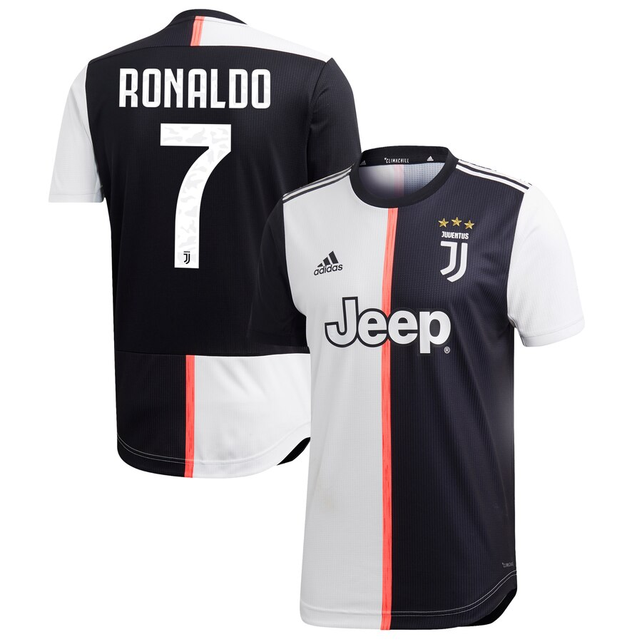 official photos e617e f1089 Cristiano Ronaldo Juventus Black 2019/20 Jersey